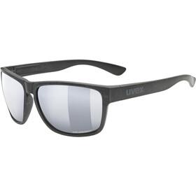 UVEX LGL Ocean Polavision Brille schwarz/silber